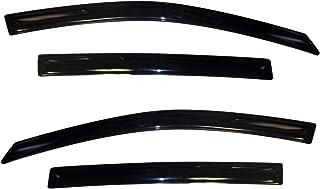 Auto Ventshade 94639 Original Ventvisor lateral defletor de janela fumaça escura, conjunto de 4 peças para Chevrolet Sonic...