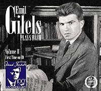 Emil Gilels Plays Bach [Emil Gilels, Yakov Zak, Elizaveta Gilels] [Melodiya: MELCD 1002224] by Emil Gilels (2014-12-18)