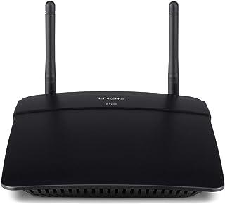 Linksys E1700 N300 Wireless Wifi Router, Black