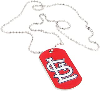 St Louis Cardinals - MLB Enameled Logo Dog Tag Necklace