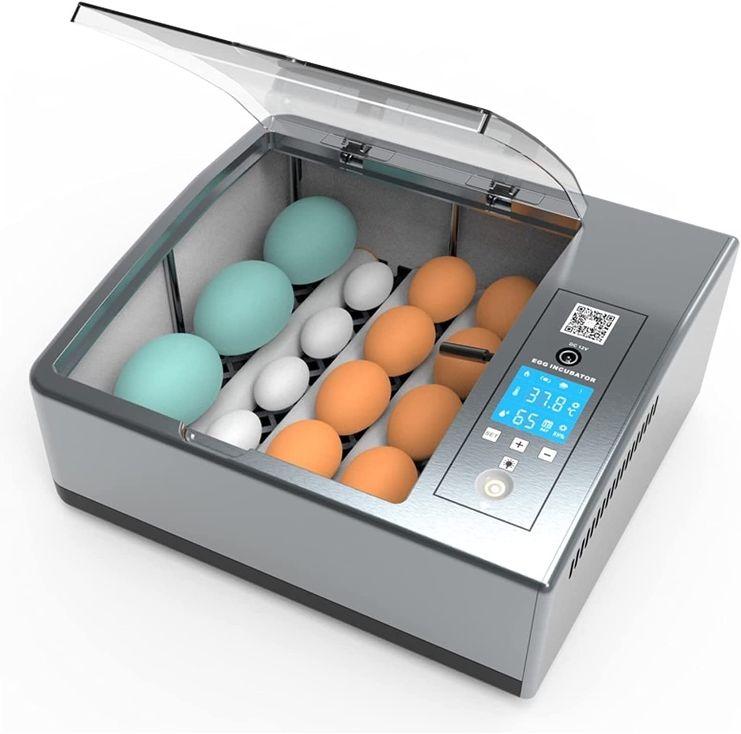 Max 76% OFF HUACHEN-LS Automatic Egg Incubator Smal 30 Outlet sale feature Chicken