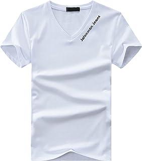 BUZZxSELECTION(バズ セレクション) Vネック Tシャツ 半袖 カットソー おしゃれ インナー 無地 ロゴ メンズ BSTS017