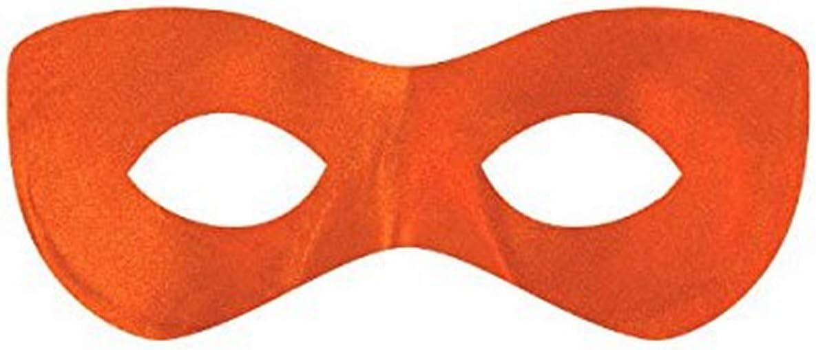 Amscan Bargain sale Fabric Super Hero Domino Orange Mesa Mall Mask Eye 1