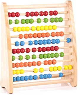 Canoe Wooden Abacus Toy - CT181216RJ65
