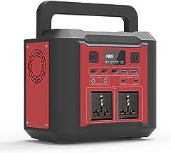 UKing Draagbare stroomgenerator, 8000 mAh, 296 Wh, stroomvoorziening met led-noodverlichting, 300 W voeding met lcd-batter...