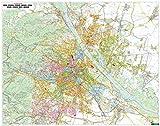 Wien Wandplan, 1:15.000, Magnetmarkiertafel - Freytag-Berndt und Artaria KG