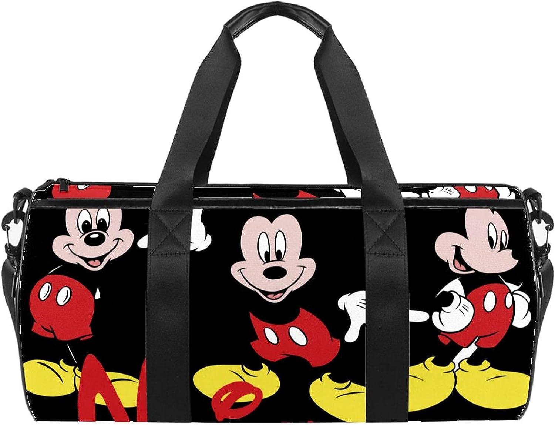 Cute Cartoon Duffel Bag Small New York Mall Award for Men Women Handbag Lightweigh