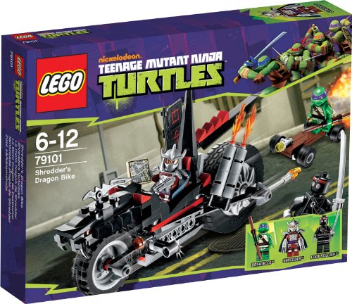 LEGO Teenage Mutant Ninja Turtles 79101 - Shredders Turbobike