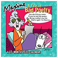 Maxine 2020 Calendar: A Year of Bad Poetry