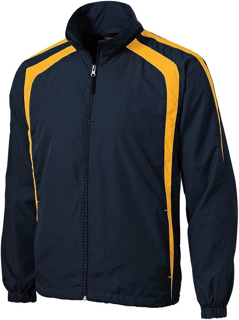 Mens or Youth Colorblock Full Zip Raglan Jackets in Regular, Big and Tall