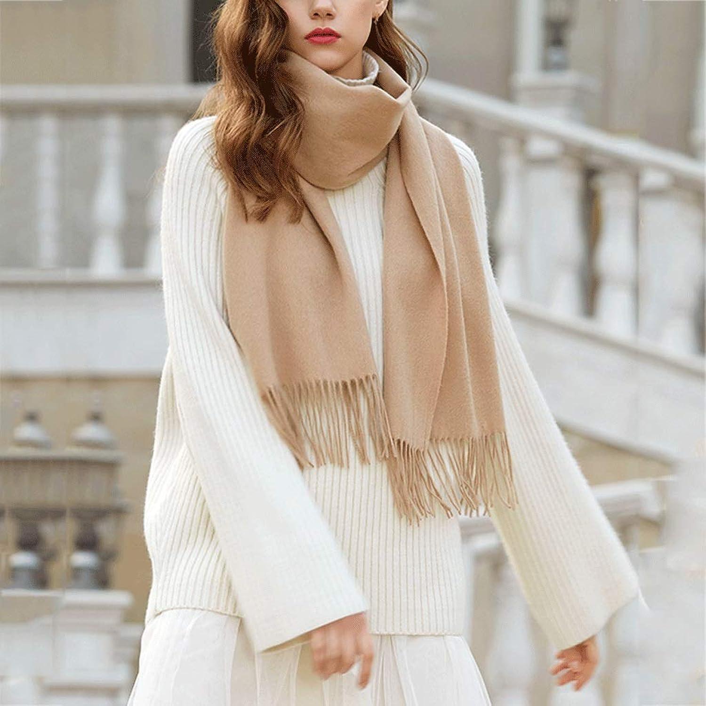 CHX Winter Scarf Woman Soft Elegant Classic Scarves Shawl 200cm × 40cm V (color   Camel)