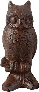 Esschert Design Cast Iron Decorative Owl, Small