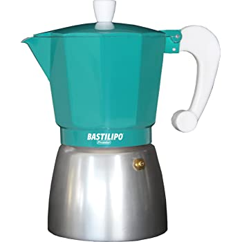 Cafetera con capacidad para 2 tazas con diseño en colores de vaca: Amazon.es: Hogar