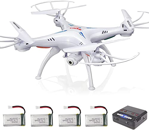 2021 Cheerwing wholesale X5SW-V3 Wifi FPV Drone with Camera, 4pcs 3.7V 550mAh Battery and lowest 4-in-1 Charger sale