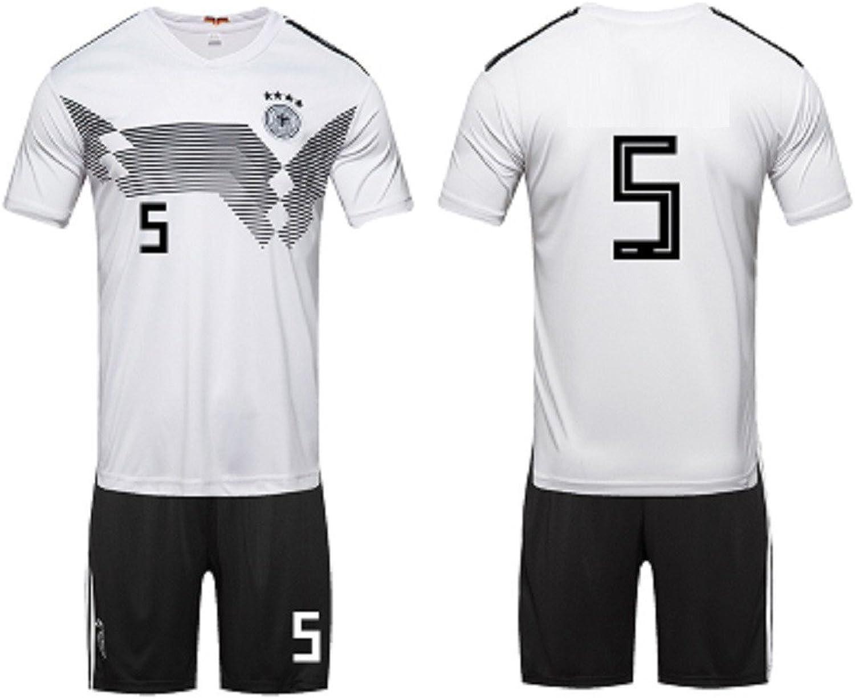 2018, German Football Team Home Jersey, Match Team Uniform, 5,Soccer Game
