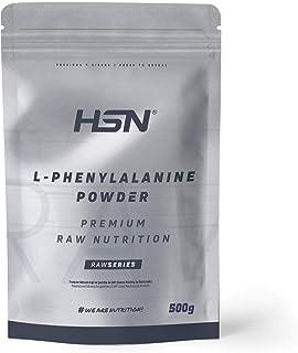 L-Fenylalanine van HSN   L-Fenylalanine Poeder   100% Zuiver Poeder   Essentiële Aminozuren   Spiermassasupplement   Vegan...