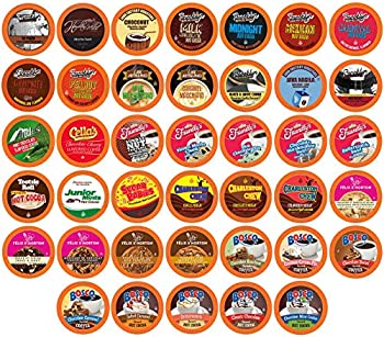 40-Ct Two Rivers Coffee Hot Chocolate & Coffee Pods Assorted Variety Pack