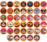 Two Rivers Coffee Hot Chocolate and Coffee Pods Variety Pack for Keurig K-Cup Brewers, Chocoholic...