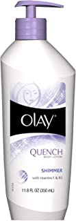 OLAY Quench Shimmer Body Lotion 11.8 oz