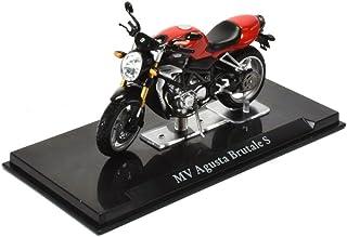 Mv Agusta f3 rojo-plata 1:12 moto modelo la cast de maisto