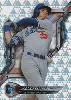 2018 Topps High Tek Pattern 3 Triangles #HT-CBE Cody Bellinger Los Angeles Dodgers Baseball Card