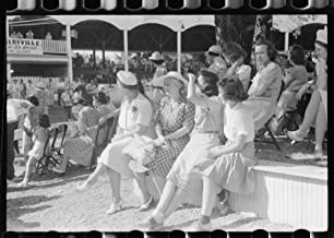 Spectators at Shelby County Horse Show and Fair. Shelbyville, Kentucky