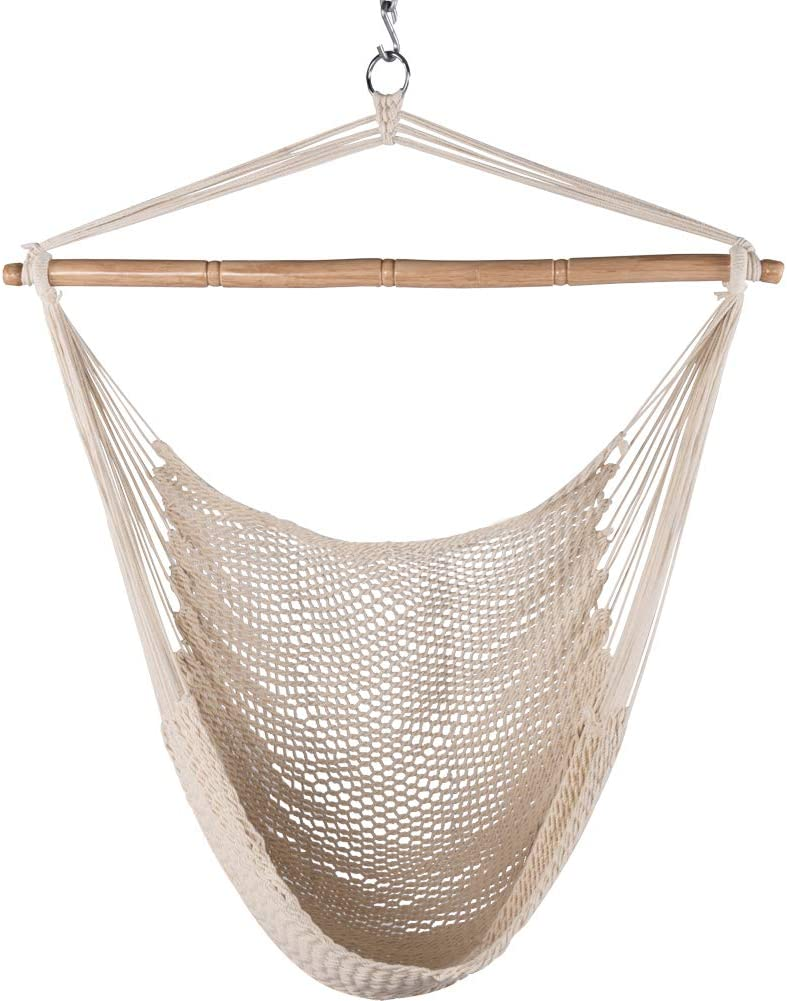 Limited Special Price Krazy Outdoors Mayan Hammock Chair - Hanging Cotton Nippon regular agency Large Rope C