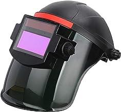yotijar Máscara de Soldagem com Escurecimento Automático Solar Capacete Olhos óculos Máscara de Soldador