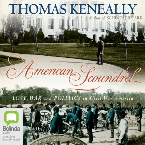 American Scoundrel audiobook cover art