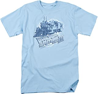Trevco Back to The Future 3 Time Train - Camiseta para hombre
