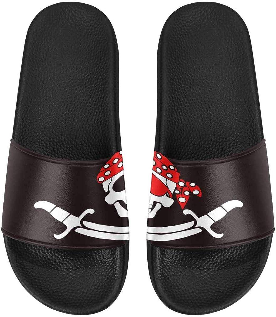 InterestPrint Women's Indoor Summer Slide Sandals Italy Famous Landmark Travel