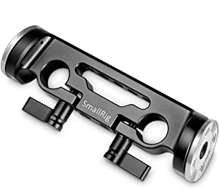 SMALLRIG 15mm Clamp con Rosette Mount 15mm Rosette Bracket para la Cámara Shoulder Rig - 1898