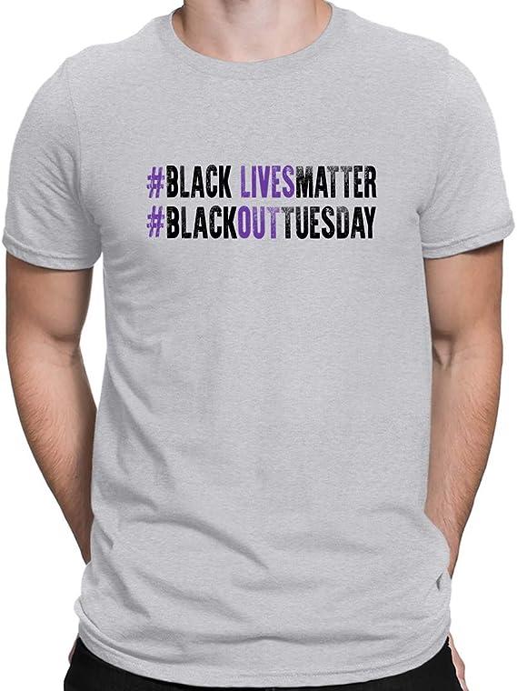 Hombres Pride Black Camisetas Negro Lives Matter Blackout ...