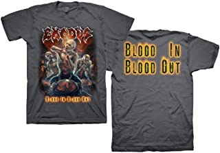 EXODUS - Blood In Blood Out Demons Grey T-Shirt