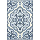 Maples Rugs Vivian Medallion Kitchen Rugs Non Skid Accent Area Carpet [Made in USA], 2'6 x 3'10,...