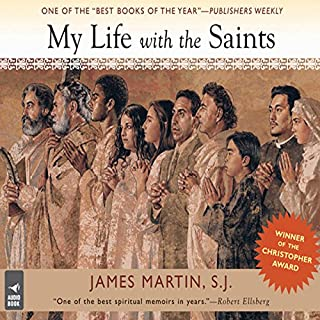 My Life With the Saints audiobook cover art
