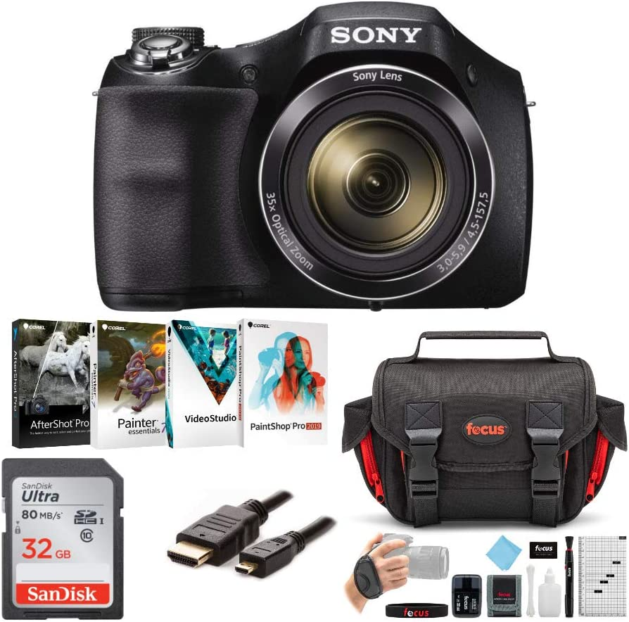 Sony Cyber-Shot H300 Digital OFFer Portland Mall Camera with and Ac Card Memory 32GB