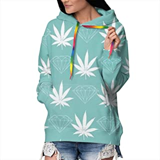 Funny Cool Sweatshirts Sportswear with Kangaroo Pockets for Girls Women