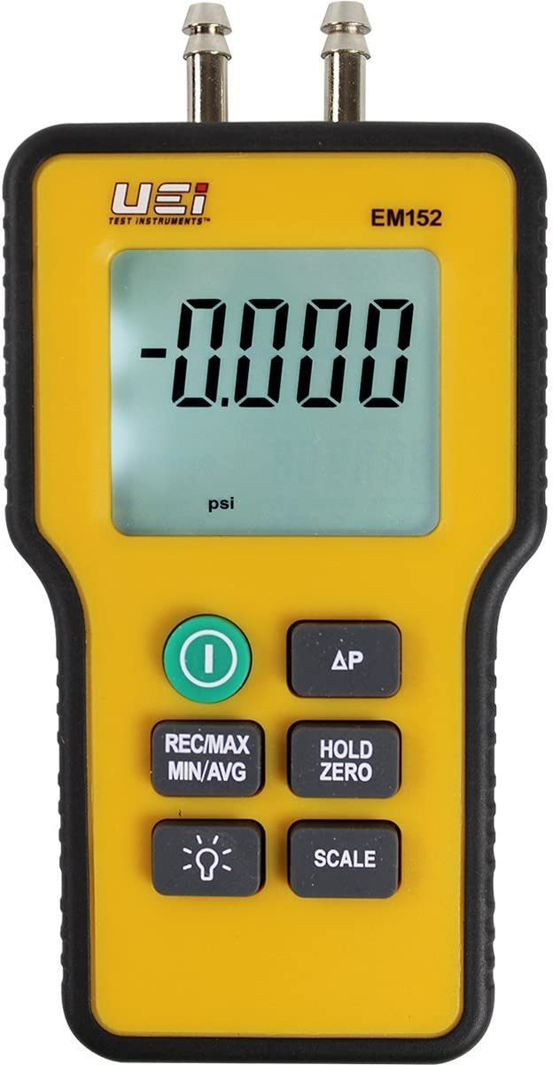 UEi Quality inspection Test Instruments EM152 Manometer Differential Digital Special Campaign Dual