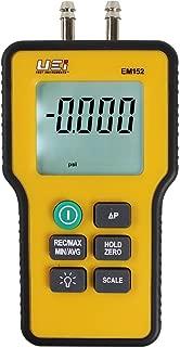 UEi Test Instruments EM152 Dual Differential Digital Manometer (Pack of 1)