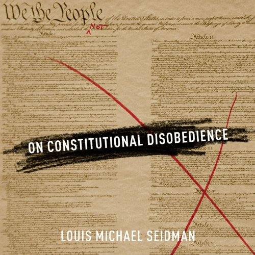 On Constitutional Disobedience audiobook cover art
