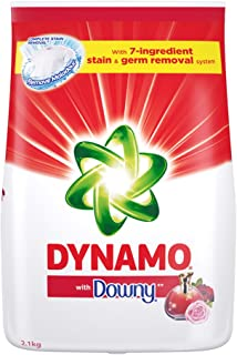 Dynamo Powder Laundry Detergent, with Downy, 2.1kg