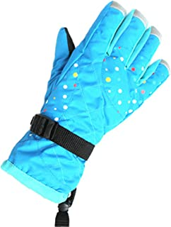 ACVIP Women's Water-proof Thickened Hiking Skiing Cold Weather Gloves