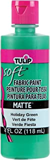 Tulip 20411 Soft Fabric Paint 4oz Matte Holiday Green
