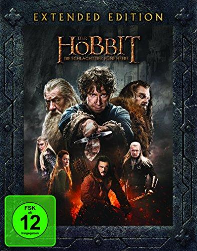 Der Hobbit 3 - Die Schlacht der fünf Heere - Extended Edition  (+ 2 Bonus-Blu-rays)