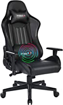 Ptoulemy Massage Gaming Chair Big and Tall Video Game Chair Heavy Duty 360 Swivel Ergonomic Computer Gamer Chair Racing St...