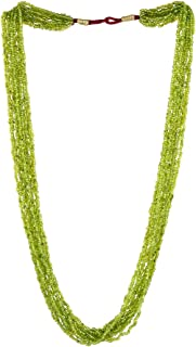 Multistrand Beaded Long Indian Necklace Jewelry for Girls and Women