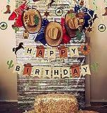 JeVenis - Decorazione per torta da cowboy,...