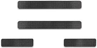 に適合 マツダ Mazda アクセラスポーツ AXELA アテンザ ATENZA デミオ Demio CX-3 CX-5 CX-7 CX-8 RX-7 RX-8 MPV スカッフプレート ステップガード カバー ステッカー の炭素繊維 4枚