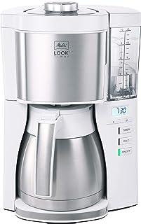 Melitta 1025-17 Filtre Kahve Makinesi, Termo Sürahi ve Zamanlayıcı Fonksiyonlu, 1080, Çıkarılabilir Su Deposu ve Kireç Gid...